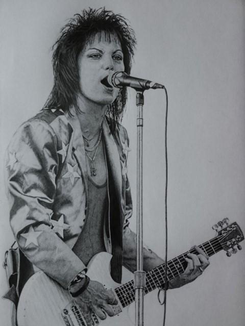 Joan Jett by SERBON